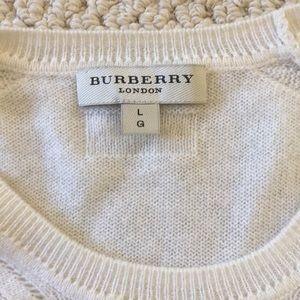 Beautiful Burberry 100% cashmere sweater